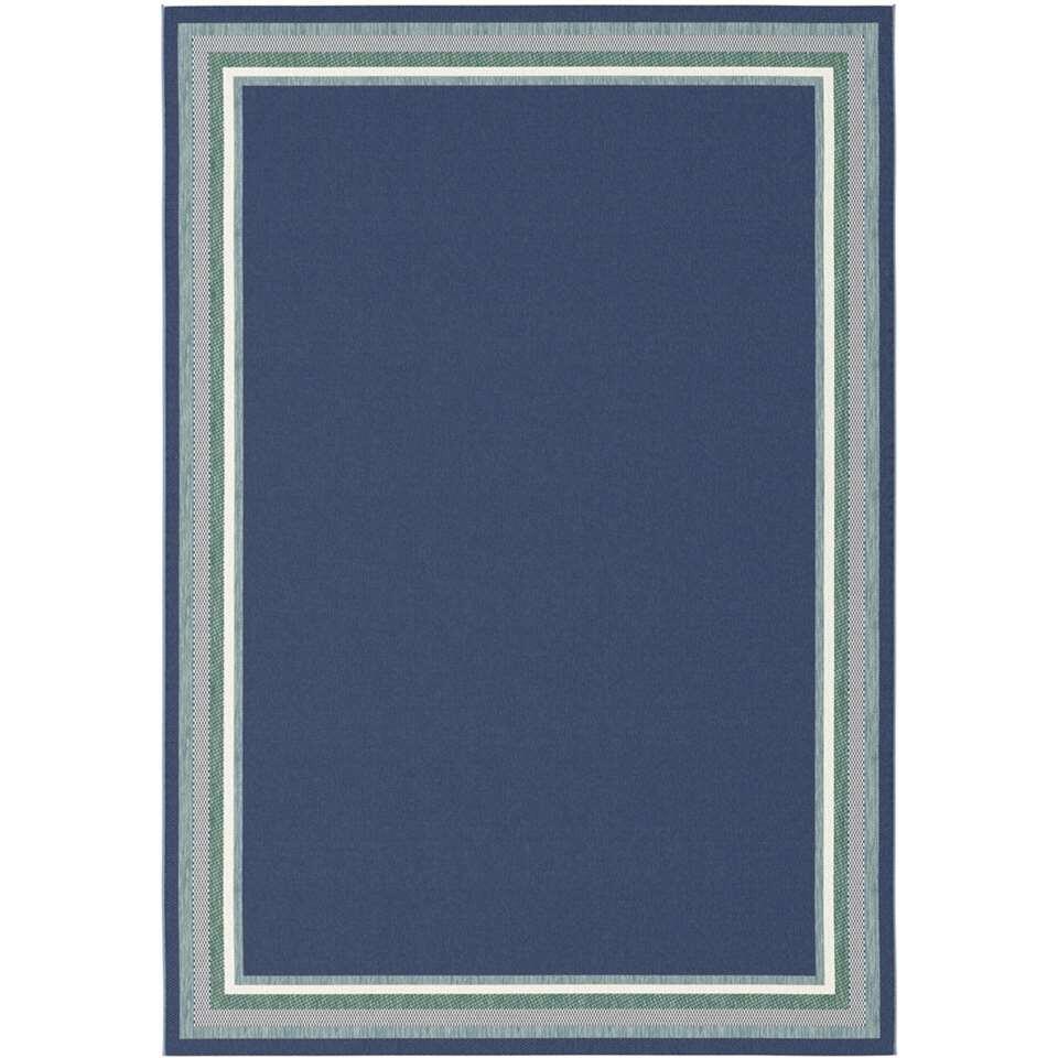 Vloerkleed Margate - blauw - 120x170 cm
