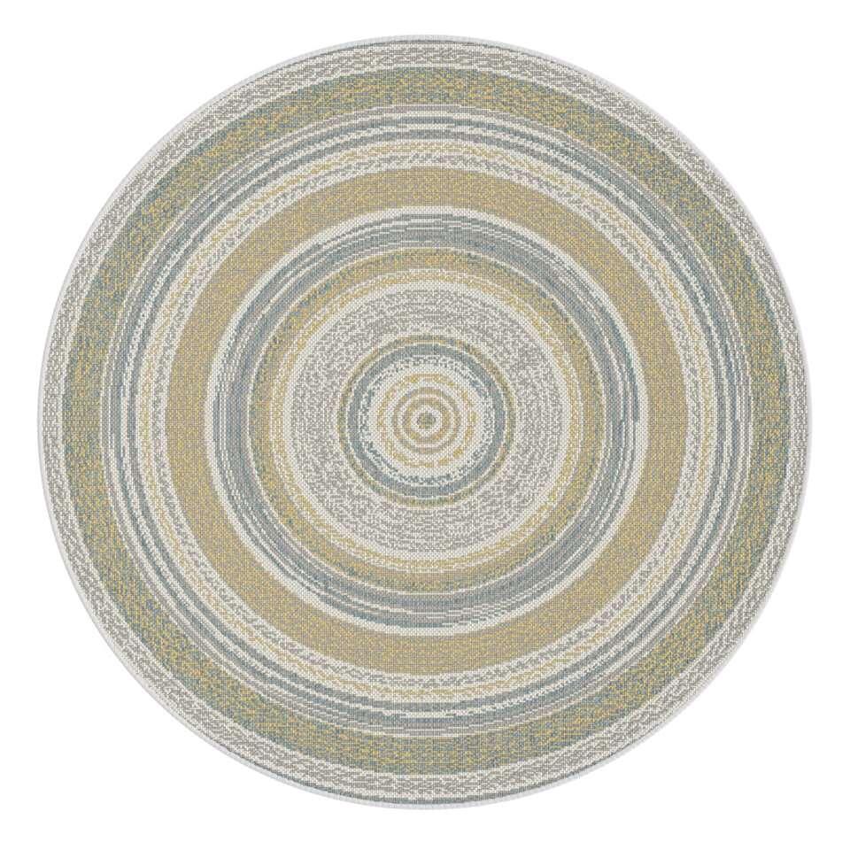 Vloerkleed Mababe - grijs - 120 cm
