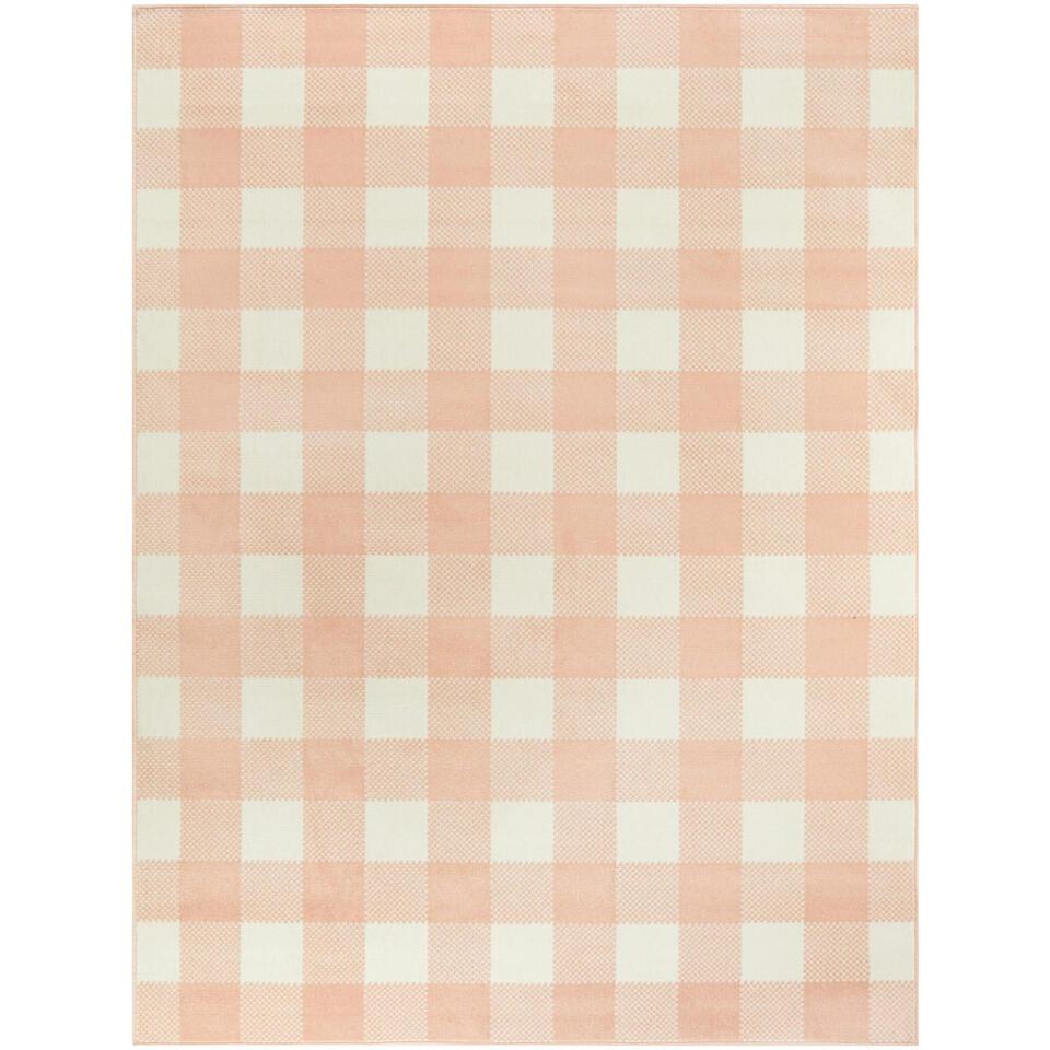 Vloerkleed Tindari - roze - 160x213 cm