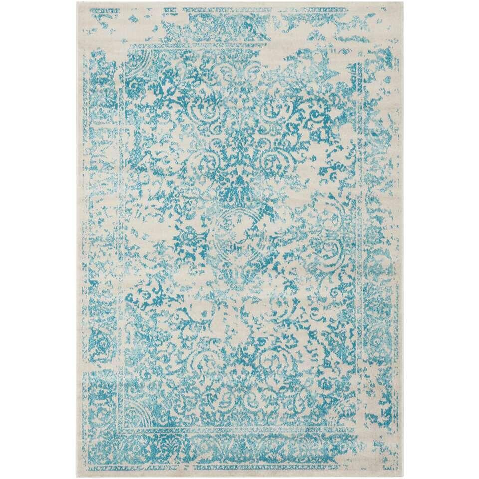 Vloerkleed Williston - lichtblauw - 160x230 cm