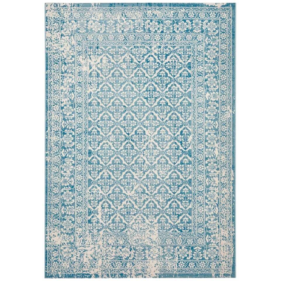 Vloerkleed Kentani - blauw - 160x230 cm
