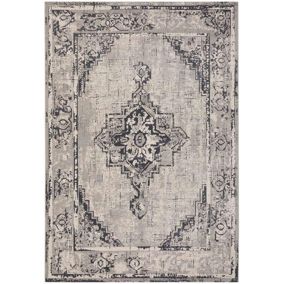 Vloerkleed Bolivar - grijs - 160x230 cm