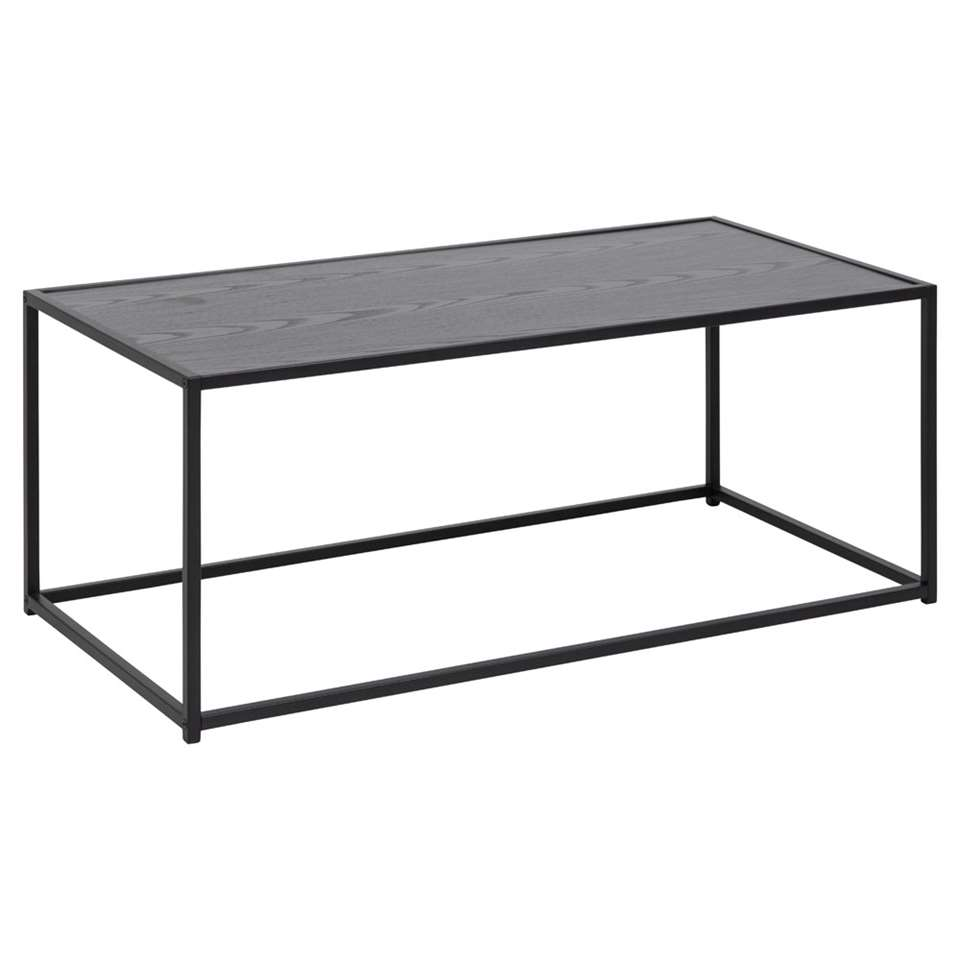 Salontafel Jaxx - zwart - 40x100x50 cm
