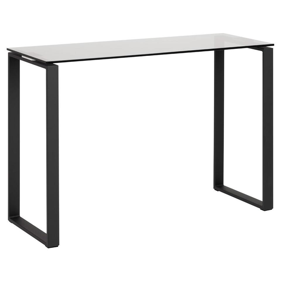Sidetable Kane - zwart - 76x110x40 cm