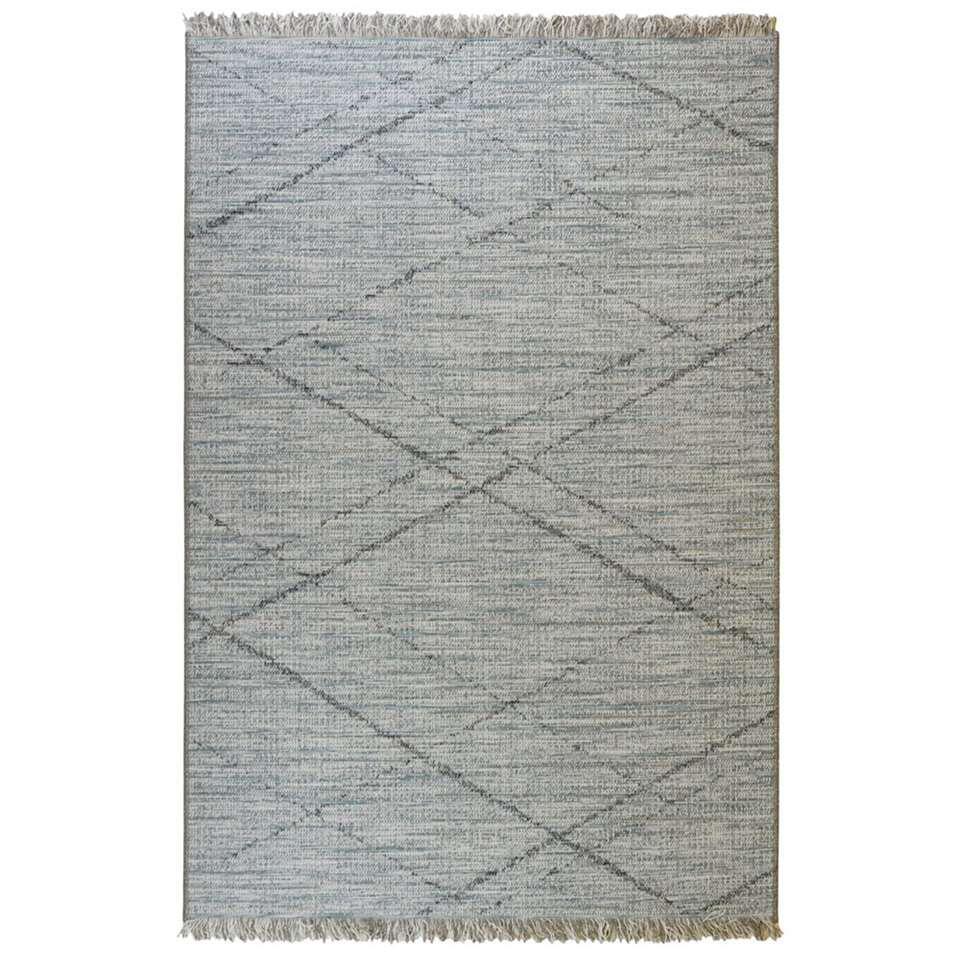 Floorita vloerkleed Les Gipsy - blauw - 155x230 cm - Leen Bakker