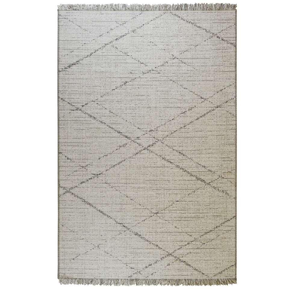 Floorita vloerkleed Les Gipsy - crème - 155x230 cm