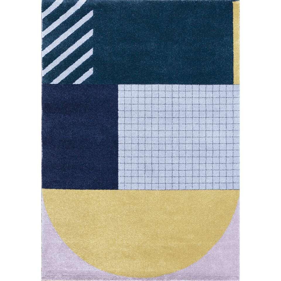Art For Kids vloerkleed Art Deco - multikleur - 120x170 cm