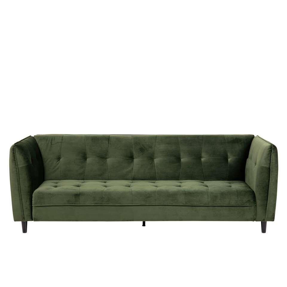 Slaapbank Loen - velvet - groen