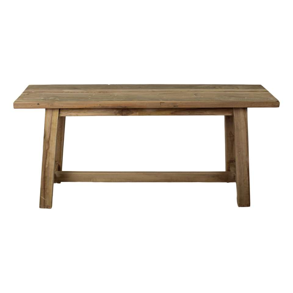 HSM Collection banc décoratif Lawas - bois - 100 cm