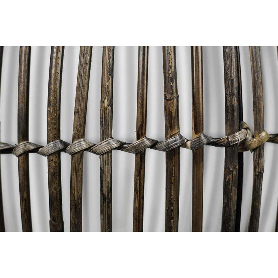 HSM Collection hanglamp Borr - zwart - 60x40 cm