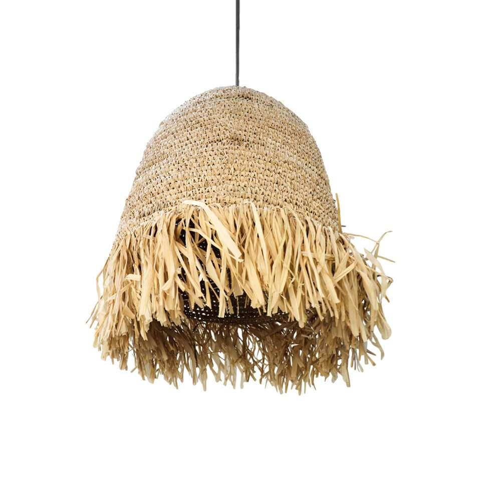 HSM Collection hanglamp Rombe - naturel - 40x40 cm