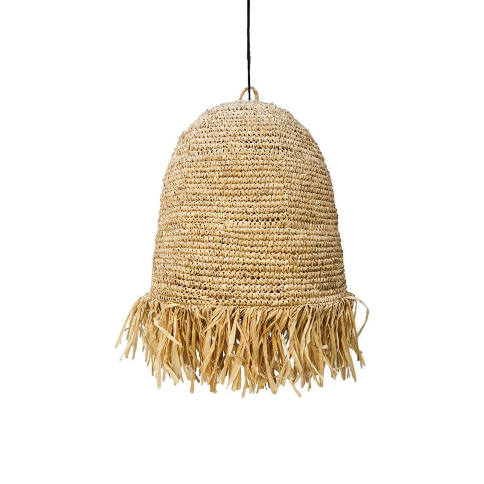 HSM Collection hanglamp Rombe - naturel - 50x50 cm
