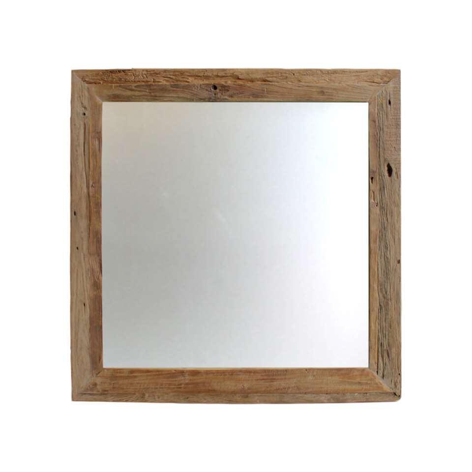 HSM Collection spiegel Xanto - naturel - 90x90 cm