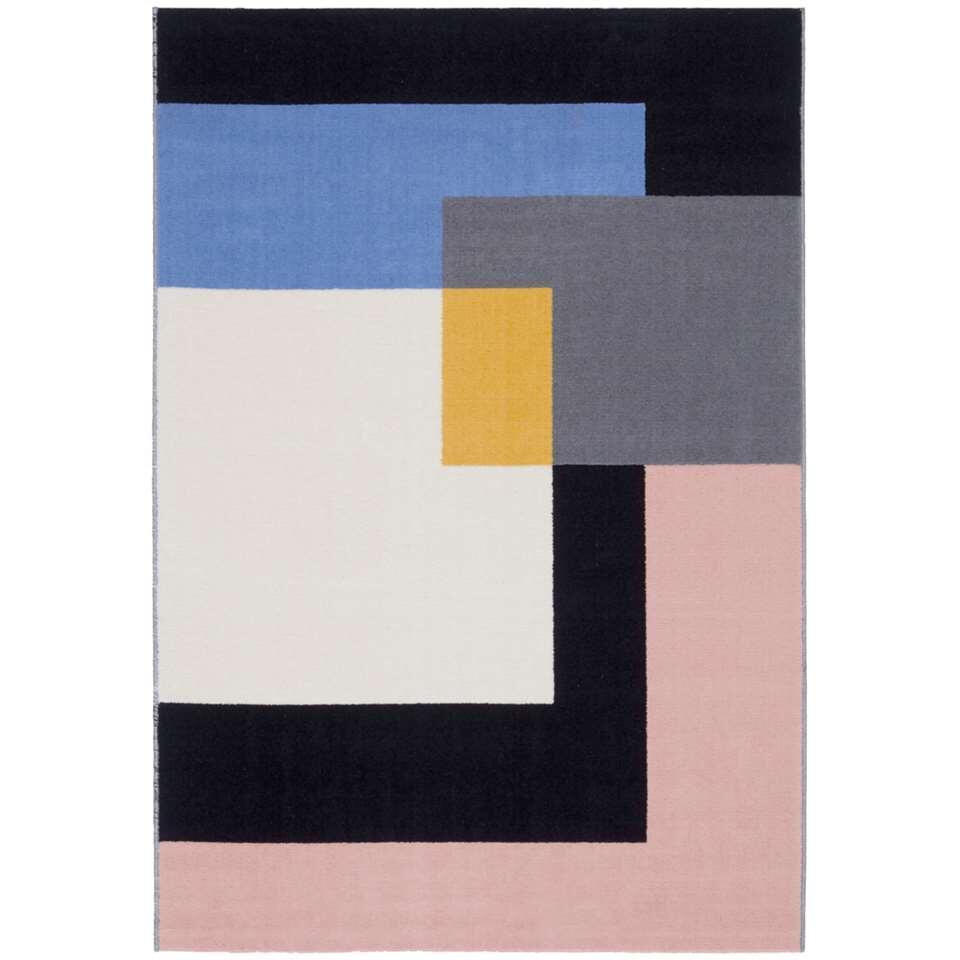 Vloerkleed Pietro - multikleur - 160x225 cm