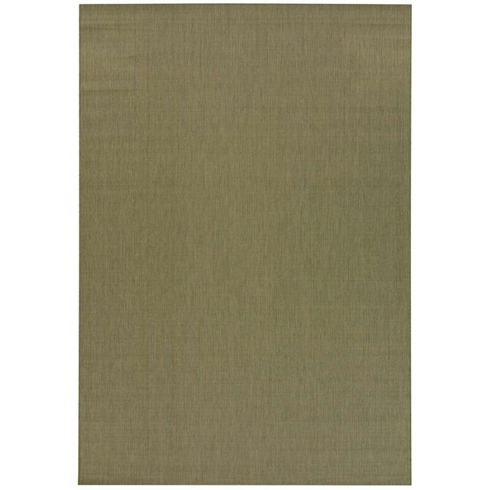 Vloerkleed Bazua - groen - 140x200 cm