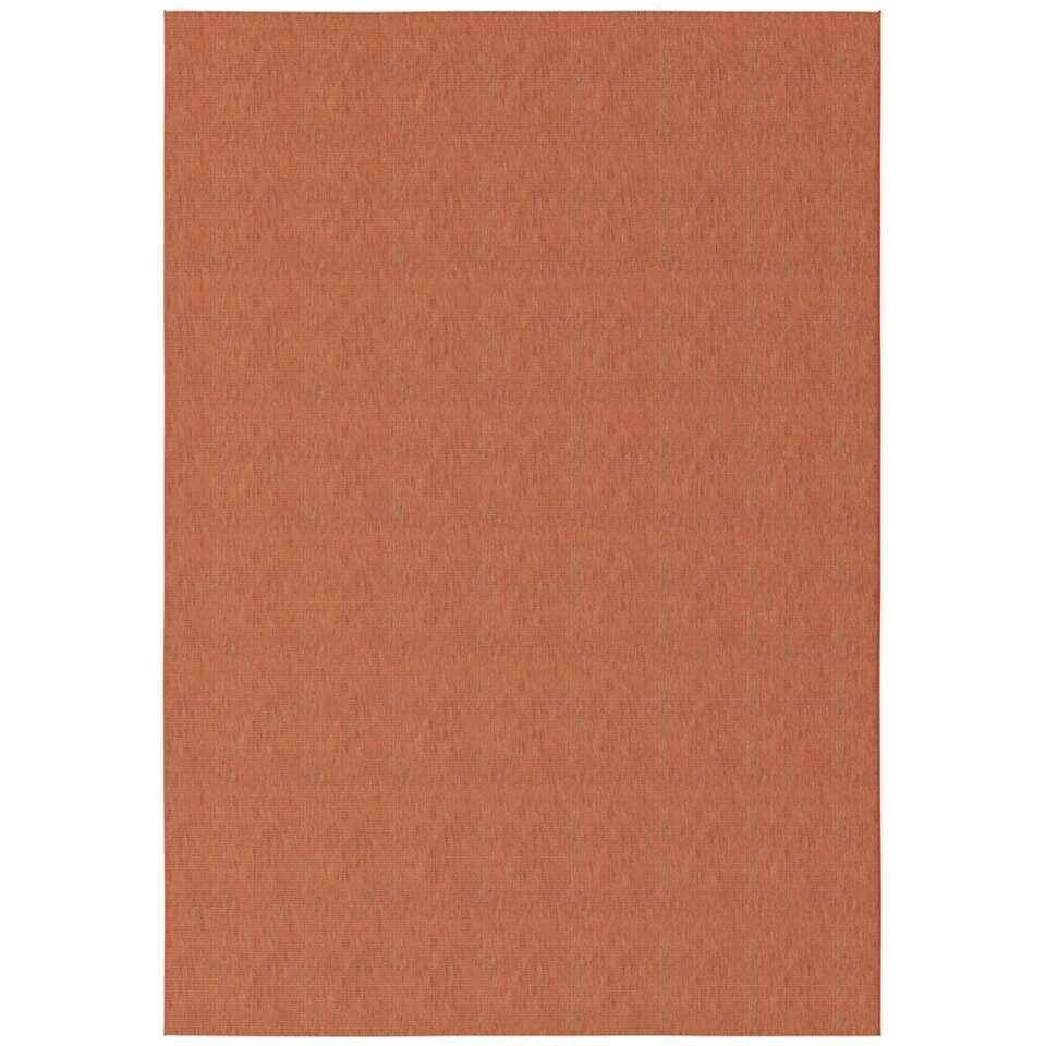 Vloerkleed Bazua - rood - 120x170 cm
