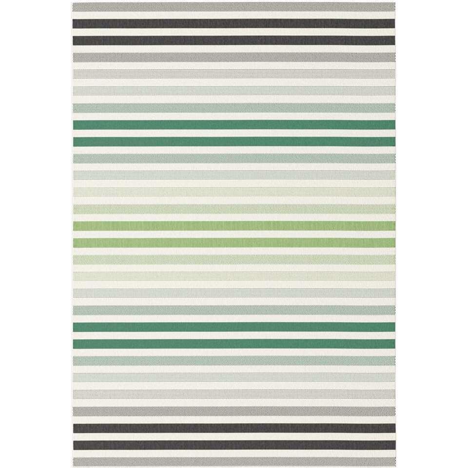 Vloerkleed Ganta - groen - 120x170 cm