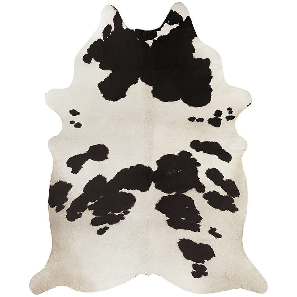 Vloerkleed Mina – zwart/wit – Leen Bakker
