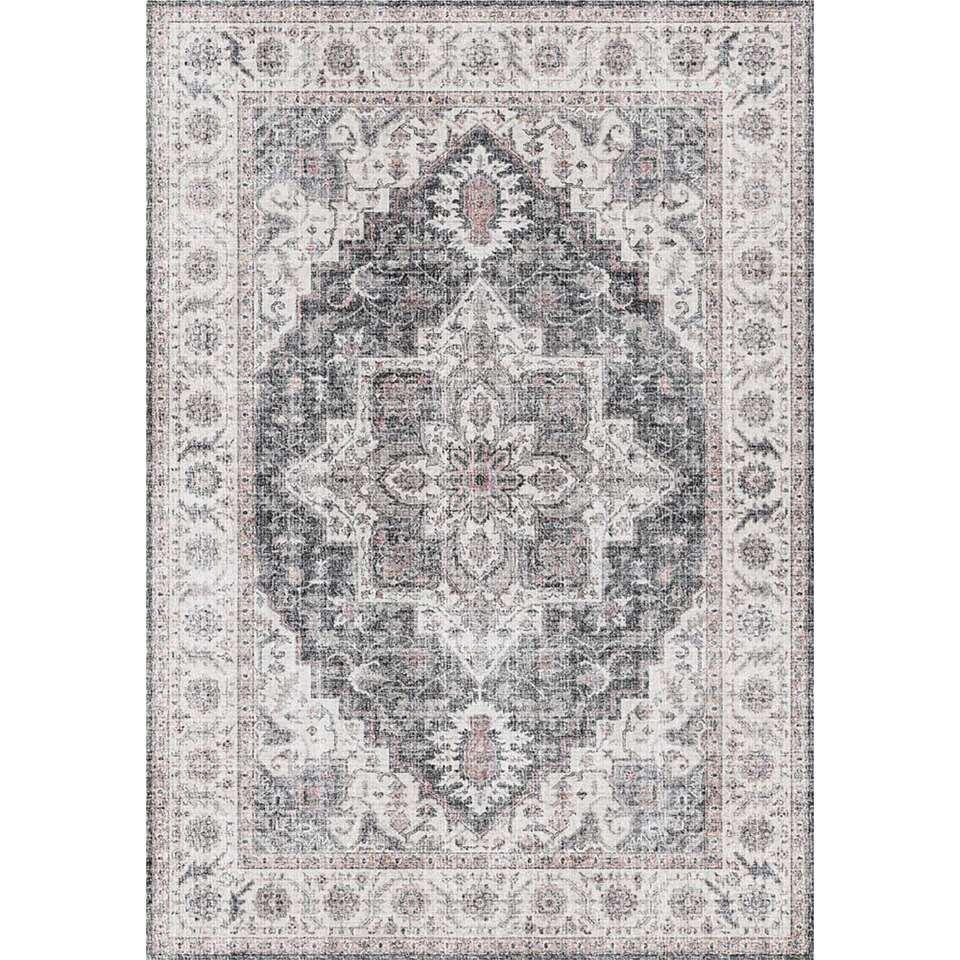 Vloerkleed Saly - grijs - 200x290 cm