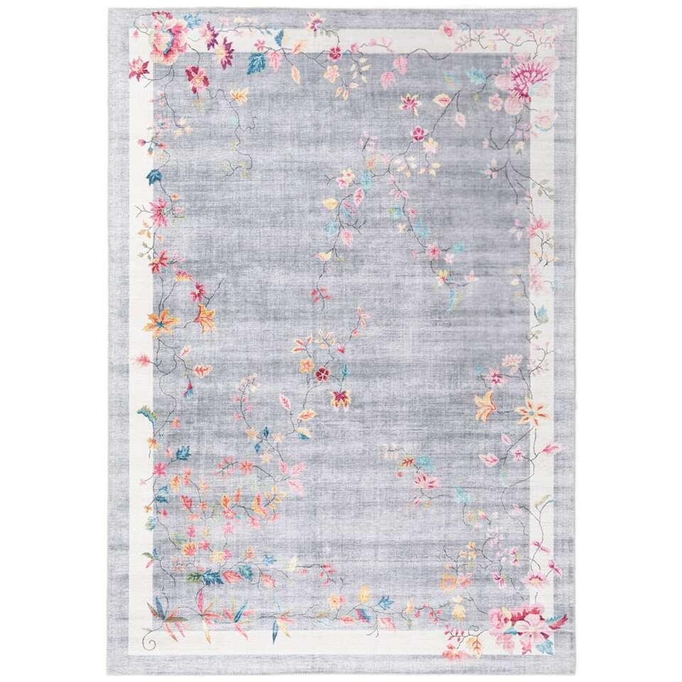Vloerkleed Loah - grijs - 160x230 cm