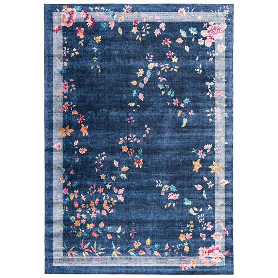 Vloerkleed Loah - blauw - 200x290 cm
