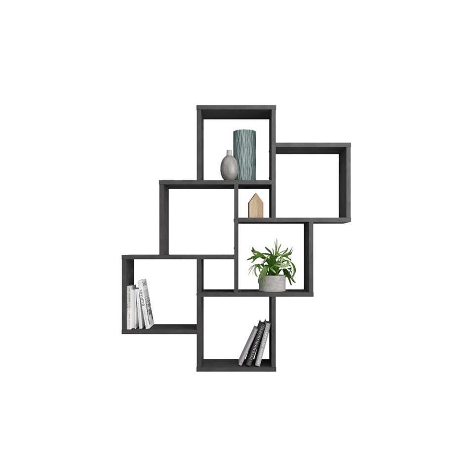 Wandrek Laurio - grijs - 94,5x81,5x16 cm