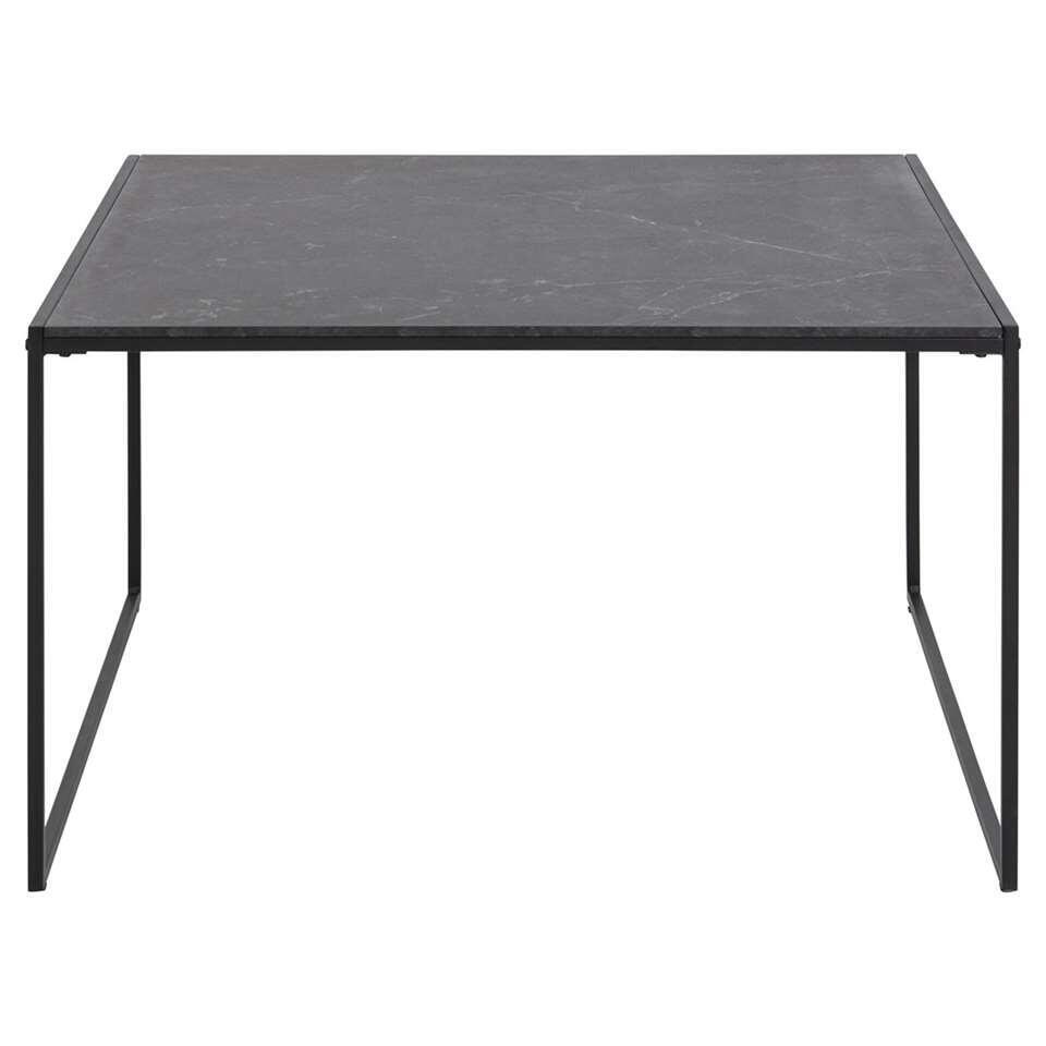 Salontafel Kilada - zwart - 48x80x80 cm