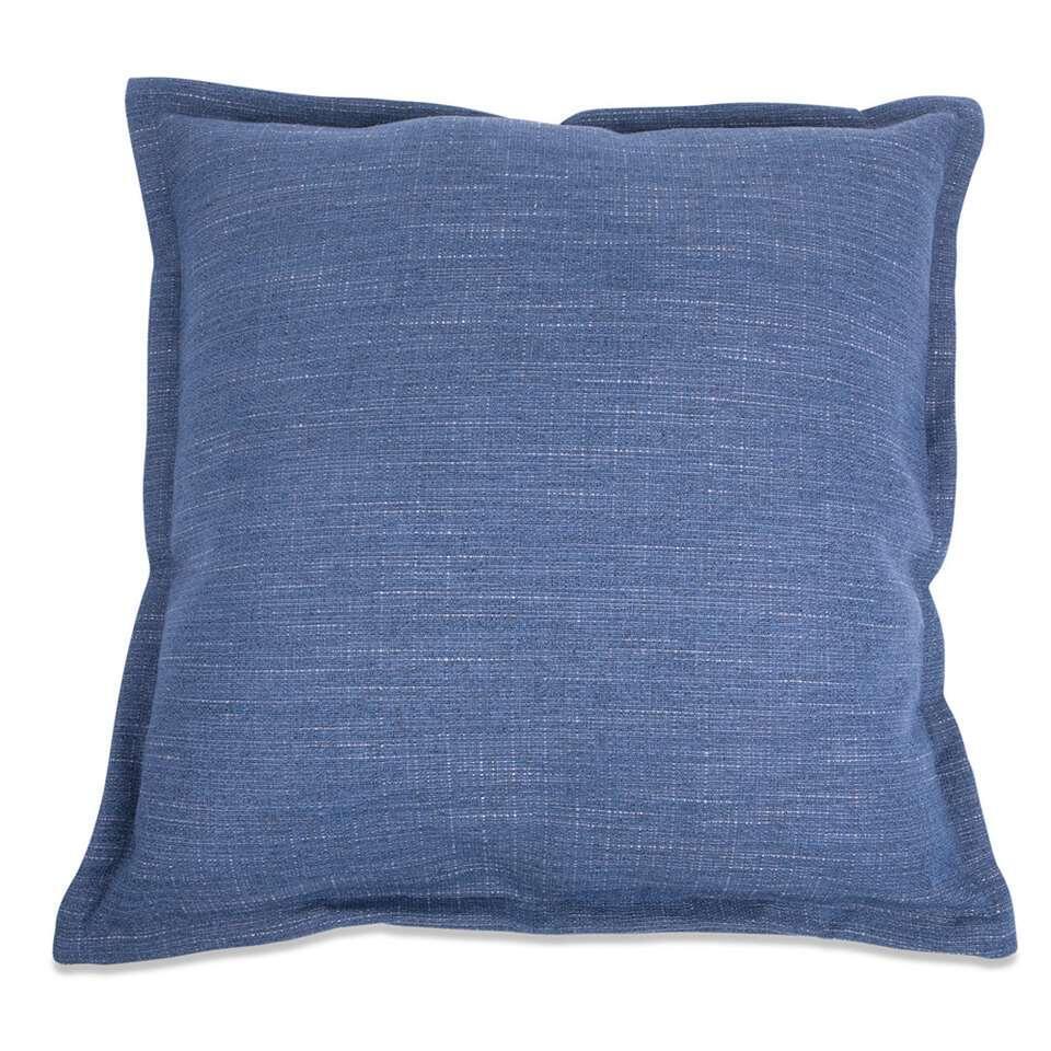 Kussen Salvador - blauw - 50x50 cm