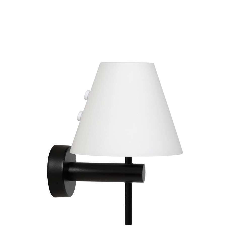 Lucide wandlamp Roxy - zwart