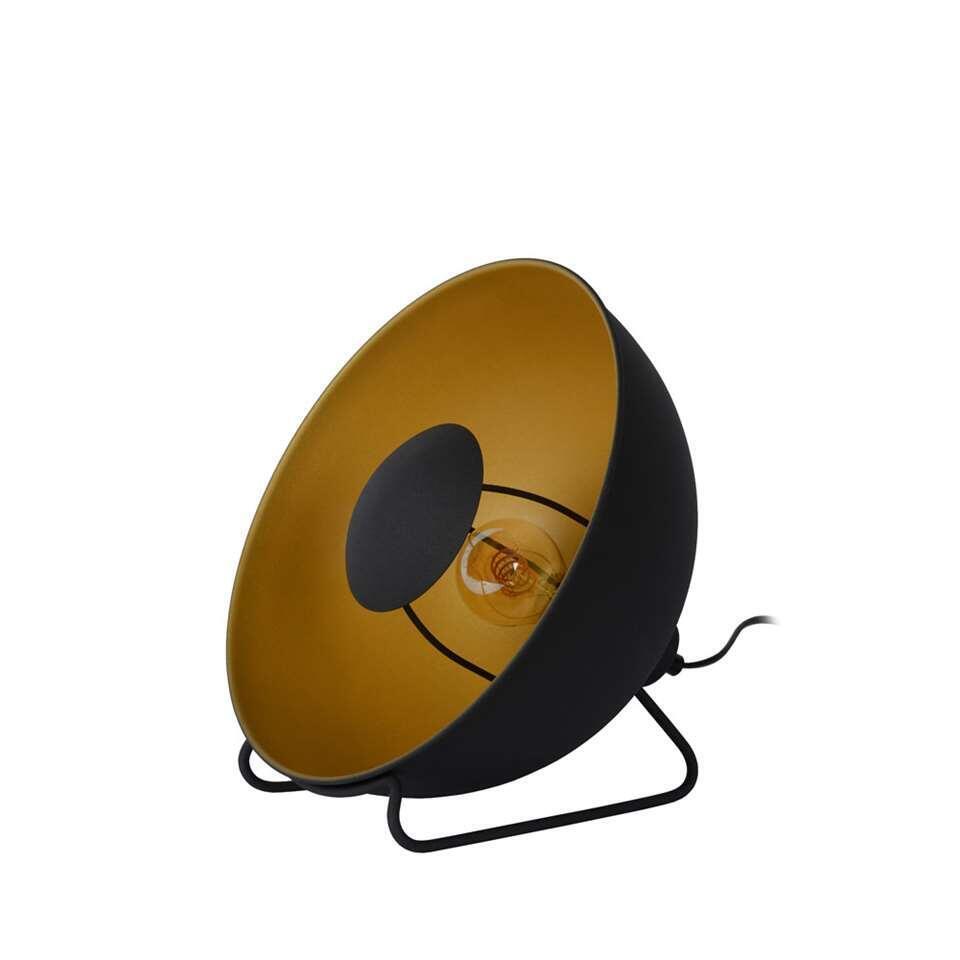 Lucide tafellamp Alvaro - zwart - 31 cm