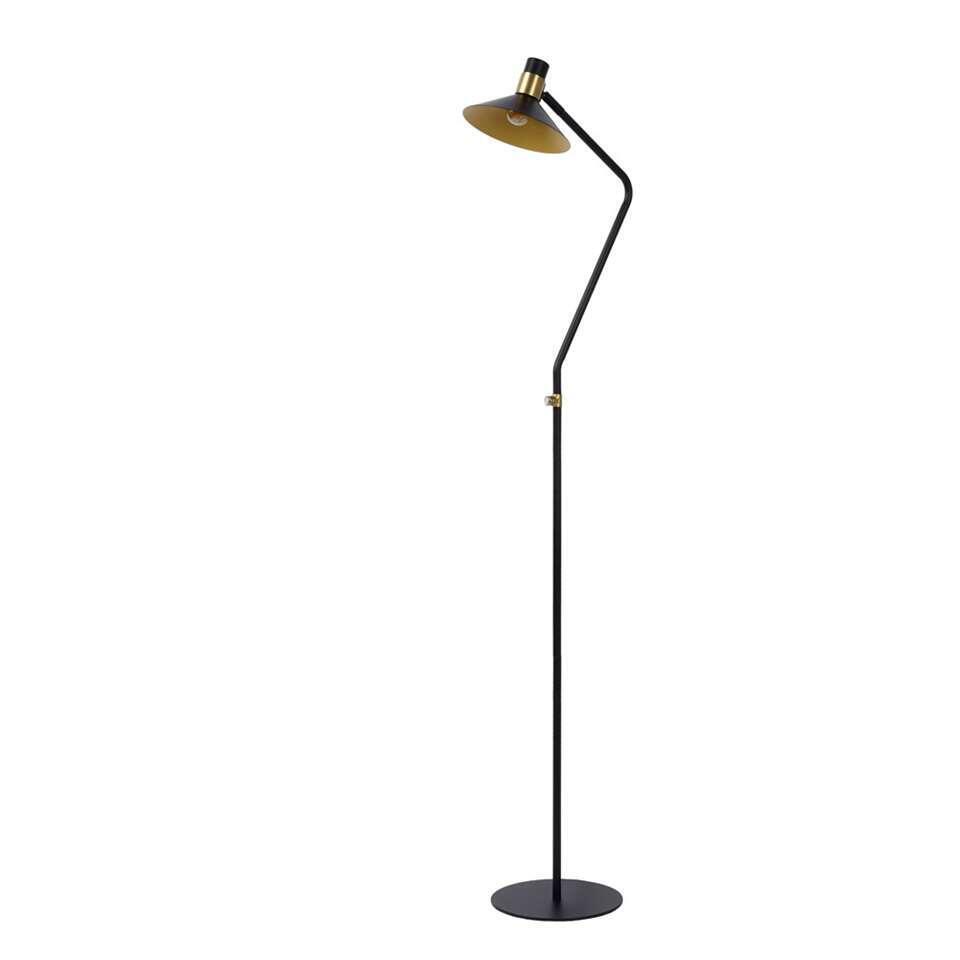 Lucide vloerlamp Pepijn - zwart