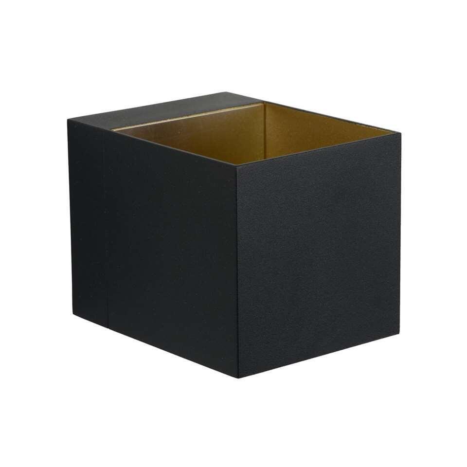 Lucide wandlamp Devi - zwart