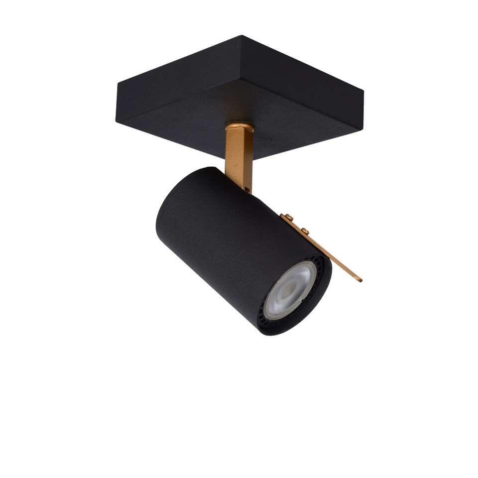 Lucide wandlamp Grony 1-lamp - zwart