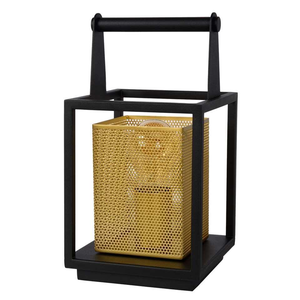 Lucide tafellamp Sansa - zwart