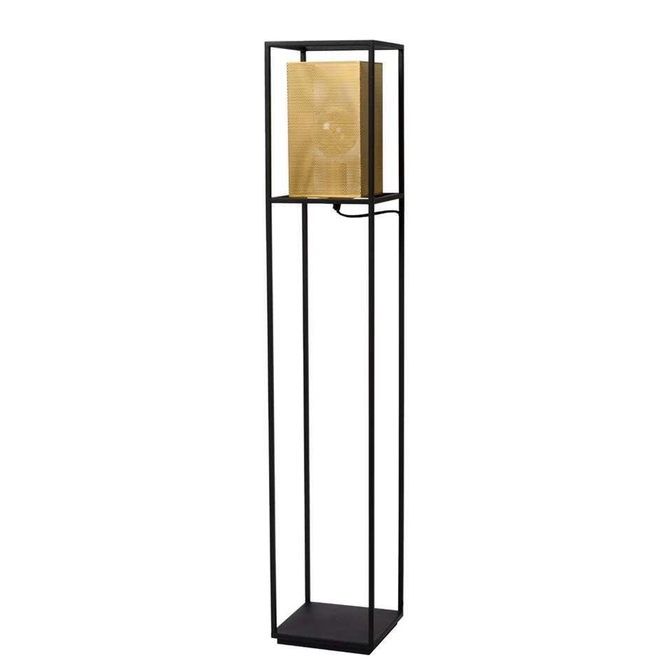 Lucide vloerlamp Sansa - zwart