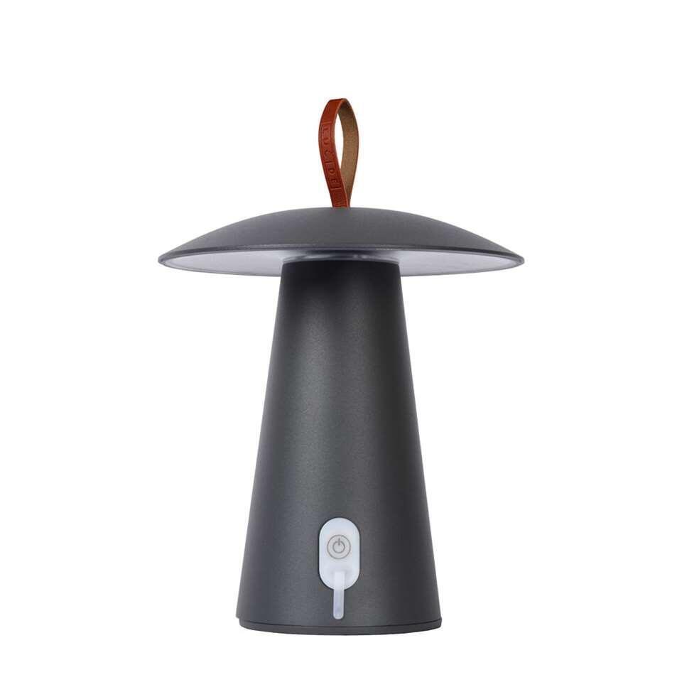 Lucide tafellamp La Donna - antraciet