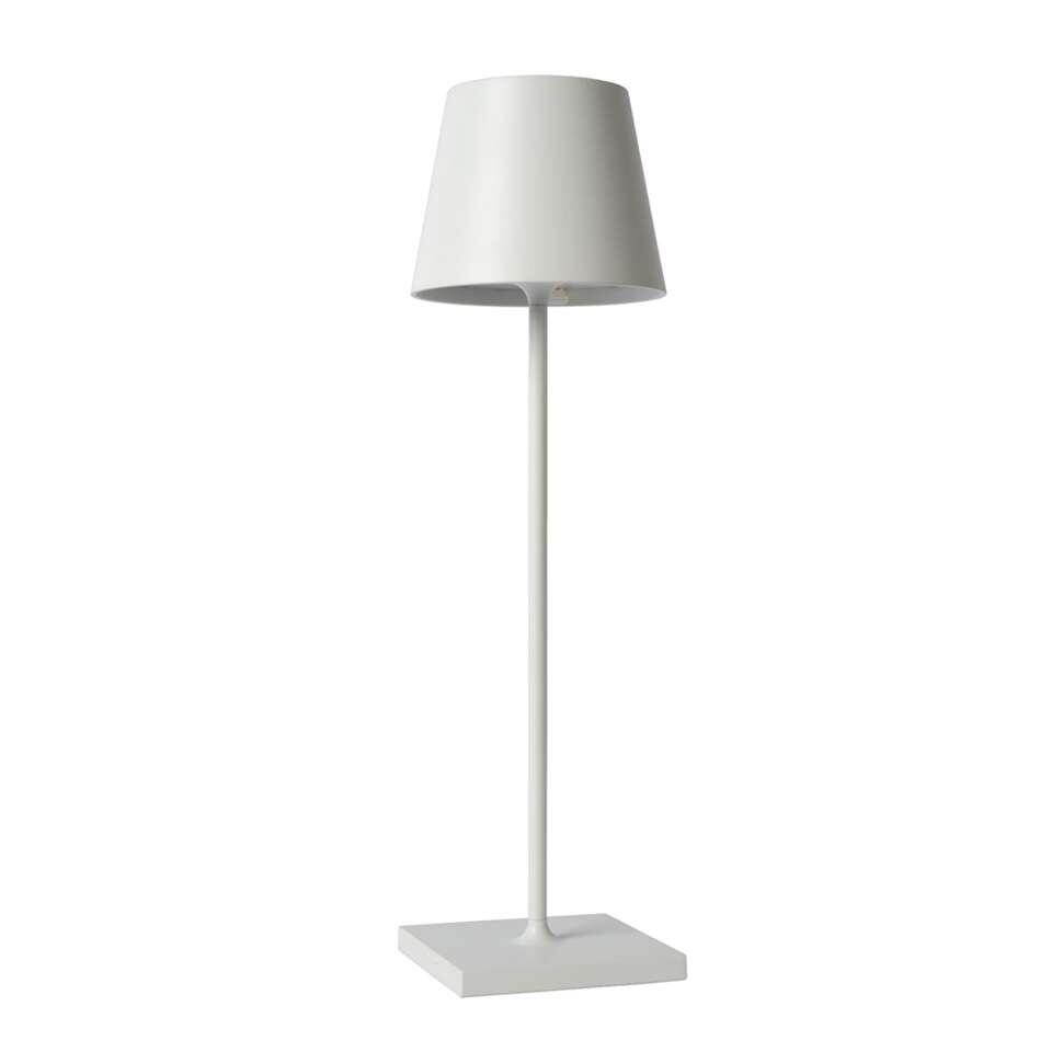 Lucide tafelllamp Justin - wit