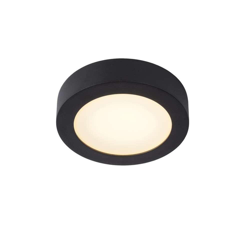 Lucide plafonnière Brice - zwart - 18 cm