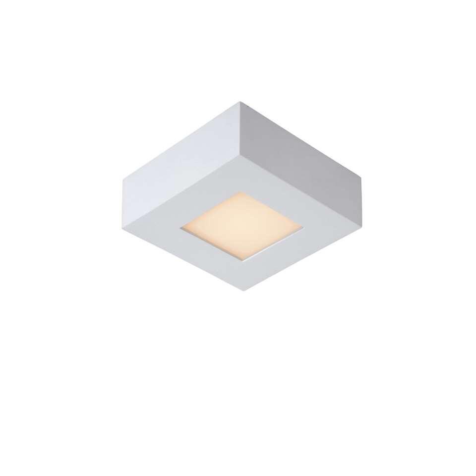 Lucide plafonnière Brice - wit - 10,8 cm
