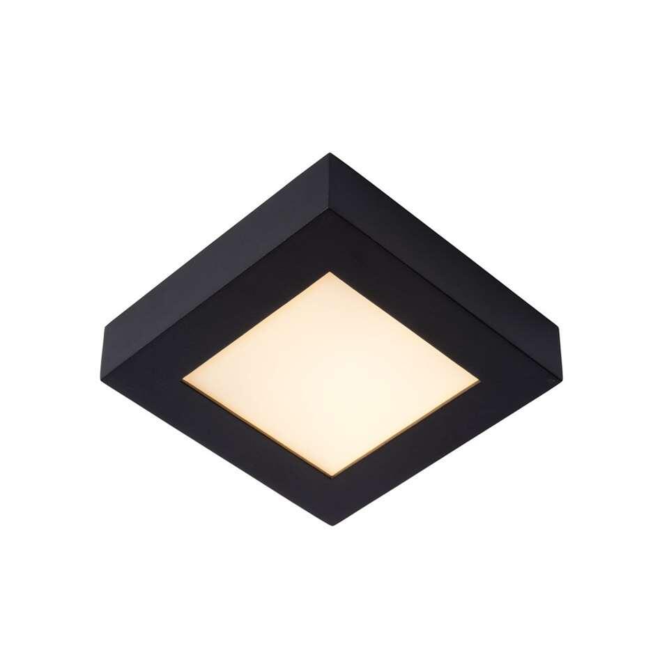 Lucide plafonnière Brice - zwart - 16,8 cm