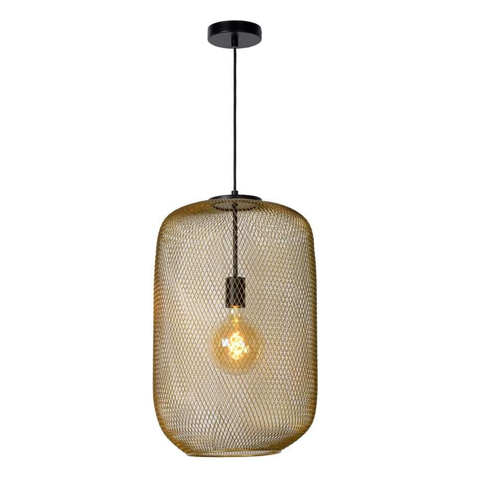Lucide hanglamp Mesh - mat goud