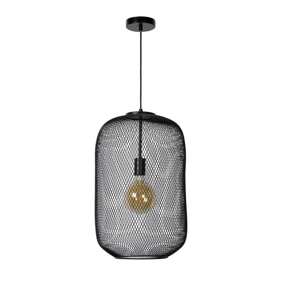 Lucide hanglamp Mesh - zwart