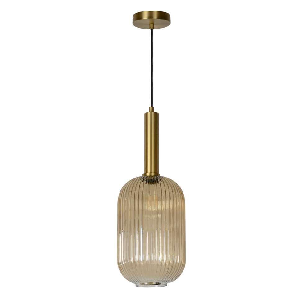 Lucide hanglamp Maloto - amber - 20 cm