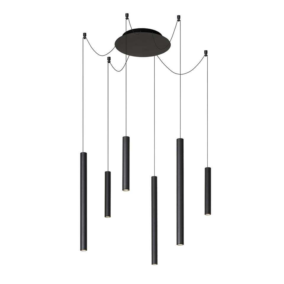 Lucide hanglamp Lorenz - zwart