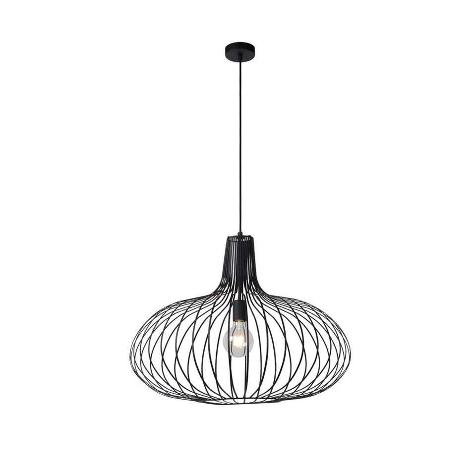 Lucide hanglamp Manuela - zwart - 65 cm