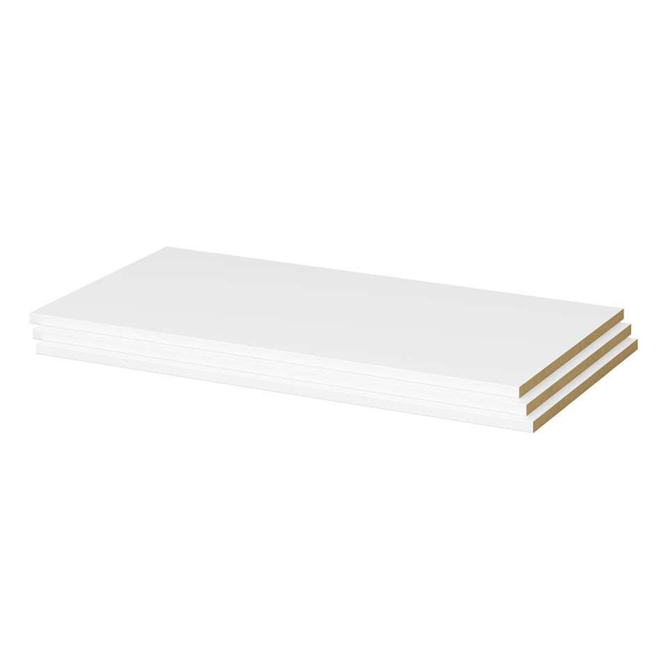 Gaia legplanken (3 stuks) - wit