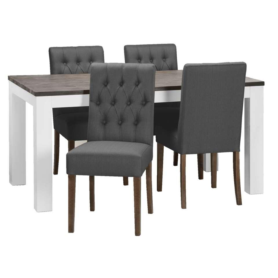 Compleet Eettafel Met 6 Stoelen.Eethoek Kopen Je Nieuwe Eetkamerset Bestel Je Nu Hier