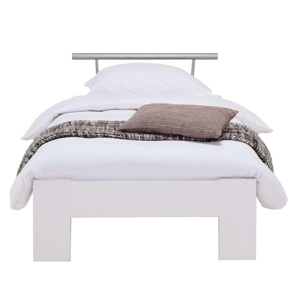 Bed Sydney met beugel - wit - 90x200 cm - Leen Bakker
