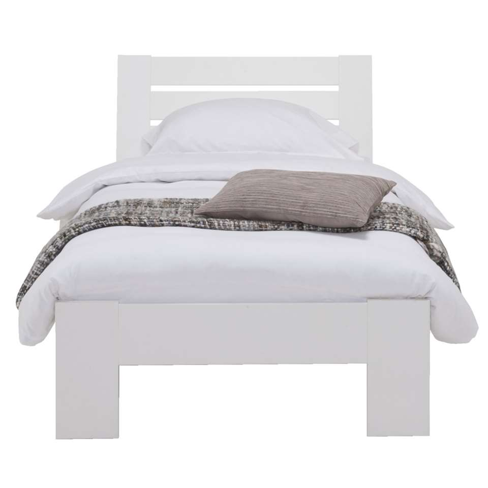 Bed Sydney 3 latten - wit - 90x200 cm