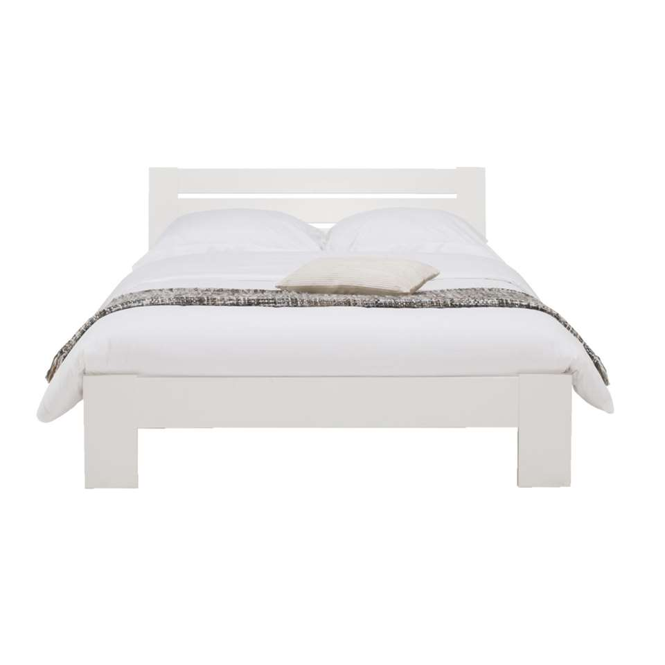 Bed Sydney 3 latten - wit - 140x200 cm